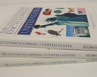 The Young People's Encyclopedia of the United States, Vol. 1, 2, and 3, KingsBrook, Multivolume Encyclopedia, ISBN 1-56294-054-6, Hardcover
