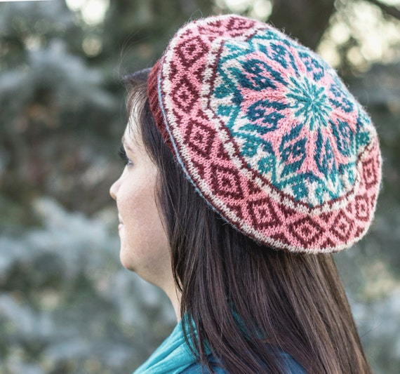 Nakawe Tam digital knitting patternfair isle stranded