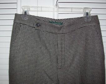 Vintage Ralph Lauren pants REDUCED JUST NOW !Preppy Pants Size 8 - 10 see details