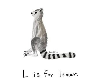 L is for Lemur
