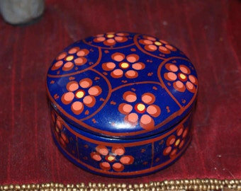 Cute Round Clay Mexican Container
