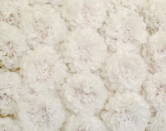 Large Tissue Paper Flowers, flower wall, wedding backdrop, paper flower wall, paper flower pom pom, wedding decor, party decor