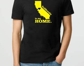 Home T-shirt - Custom Home Location State Shirt - Texas is My Home t shirt - Personalized t shirt - Adult Unisex T Shirts 50 States T-Shirt