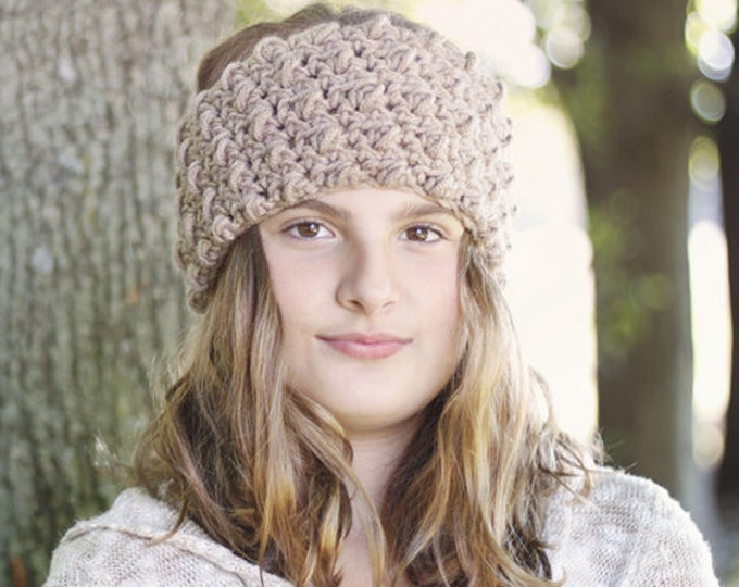 PDF Crochet Pattern - Cozy Headband Pattern