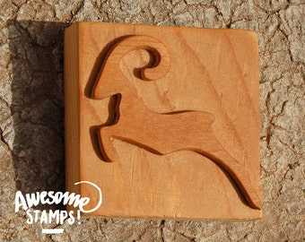 Elegant for Mouflon SOAP stamp jumping