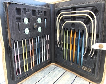 Vintage Boye Circular Knitting Needle Set
