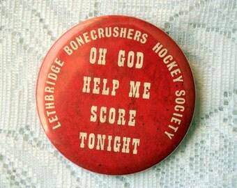 Oh God Help Me Score Tonight Lethbridge Bonecrushers Hockey Society