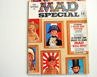 MAD Special Spring 1971 - Mad Magazine -  MAD book - Mad Super Special Number 1