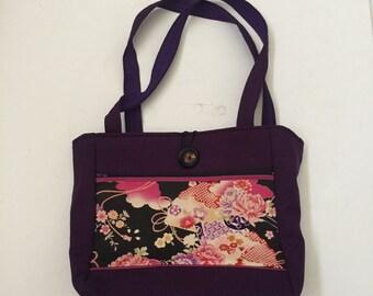 Oriental Arrangements Handmade Tote Bag