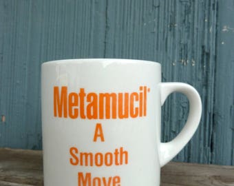 metamucil a smmoth move joke mug