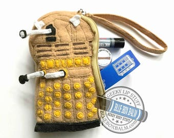 DALEK Buddy Bag Wristlet Comes Filled With 3 Doctor Who Inspired Goodies!