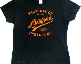 Orange Is The New Black Inspired T Shirt Top Women's Ladies ~ 100% Cotton ~ Great Gift OITNB