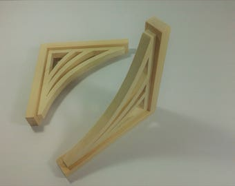 Wood Shelf Brackets / Wooden Shelf Brackets