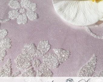 Head Table Linens, Glitter Overlay, Beaded Overlay, Glitter Tablecloth,