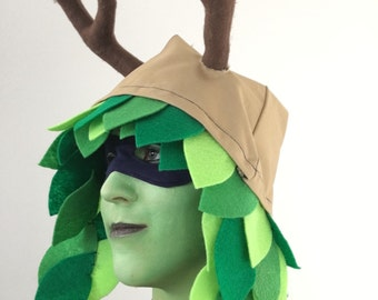 Branch Antlers and Hat (Huntress Wizard)