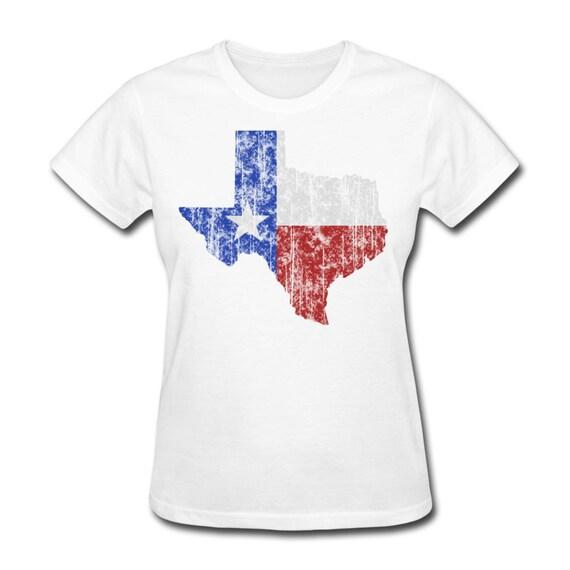 Women 39 S Texas Lone Star T Shirt Dallas Fort Worth Houston