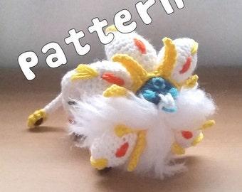 Solgaleo Amigurumi Pattern