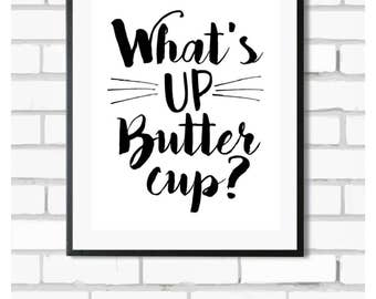 Buttercup - Digital Print