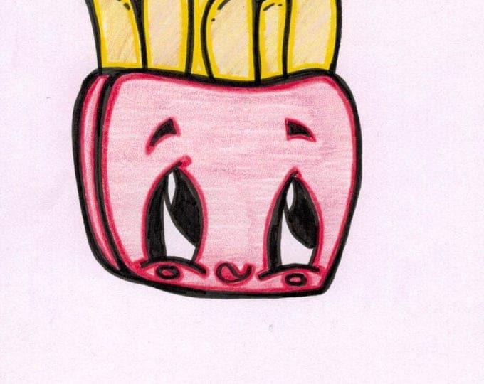 Fry Cartoon