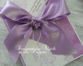 Handmade Birthday Card, Daughter, Wife, Fiancee, Mum, Personalized