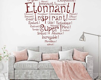 Inspire Wall Decal Etsy - Inspiring wall decals