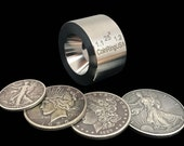 """25-Degree """"Fat Tire"""" UNIVERSAL Folding/Reduction Die made of Stainless Steel for Smaller Sizes from Larger Coins"""