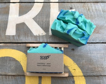 Hand Crafted Bar Soap - Rosemary Mint