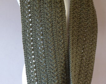 Cosy Cable Scarf