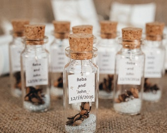 ... guests Favors Rustic wedding favors Personalized tag Wedding thank you