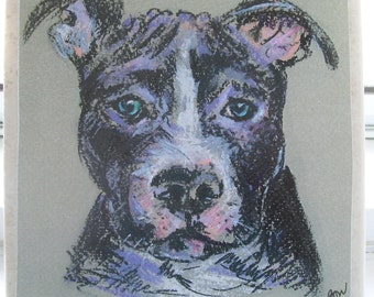 Pitbull NoZoo Art Tile