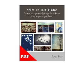 Ebook DIY -  Mixed media photography techniques -  Alter and edit Your Photos - eBook Instant DOWNLOAD - PDF diy Tutorial