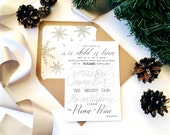 Pack of 10 Christian Christmas cards Isaiah 9 verse 6 Lined Envelope