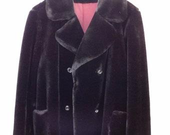 Vintage Mar-Del By Rice Faux Fur Coat