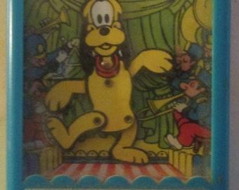 Pluto Disney Dancer Talent Show 1975 Gabriel Toys 76900 Vintage