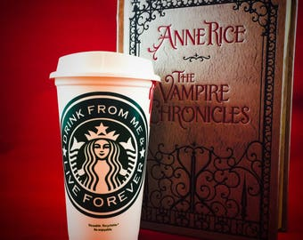 Anne Rice, The Vampire Chronicles, Lestat inspired Special Edition Starbucks Travel Cup