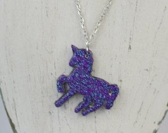 Glitterati Unicorn Necklace