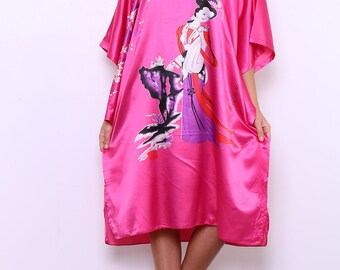 Short negligee, Japanese style, cut very wide