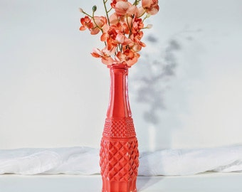 Vintage glass vase/ Milk glass vase/ Vintage milk glass vase/ Glass vase/ Vintage vase/ Antique vase/ Antique glass vase