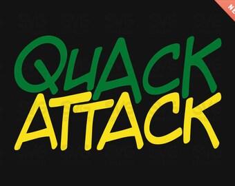 Quack Attack - Oregon Ducks SVG