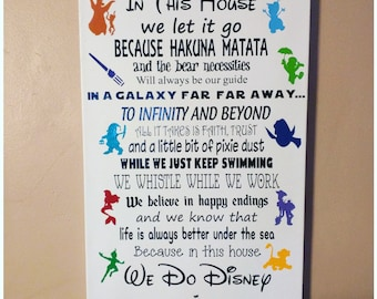 Disney Movie Quotes Inspiration Disney Movie Quotes  Etsy