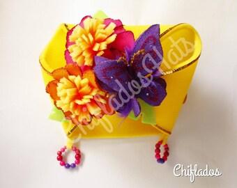 Carmen Miranda Hat Latin Lady  Showgirl Tropical Costume Party  Headpiece Foam Hat