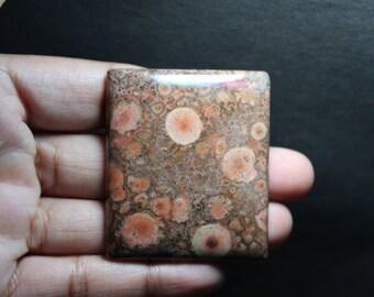 Natural Poppy jasper Cabochons 100%  Morgan Hill Top quality Handmade  Jewellery making Poppy jasper 110 Ct  S#1836