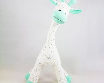 Giraffe toy, Stuffed giraffe, Soft Giraffe toy, Animal Sewed Toy