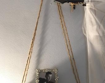 Rustic Hanging Shelf