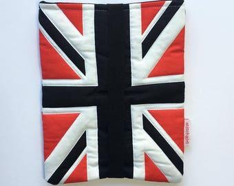 Union Jack Mini Tablet Fabric Cover