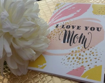Mom best friend. Mother's Day Card