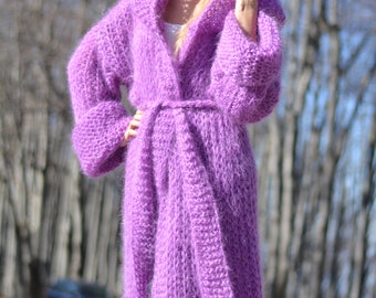 ORDER handmade summer shrug hand knitted mohair shrug soft knitted cardigan fuzzy hooded cape summer sweater slouchy loose knit Dukyana