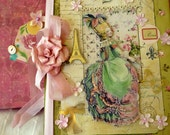 Sweet Marie Large Journal With Extra Ephemera Scrapbook