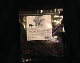 All Natural  Gluten Free Black Pepper & Sea Salt Beef Jerky