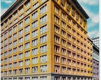 Vintage Chicago Postcard - Marshall Field's Department Store (Unused)